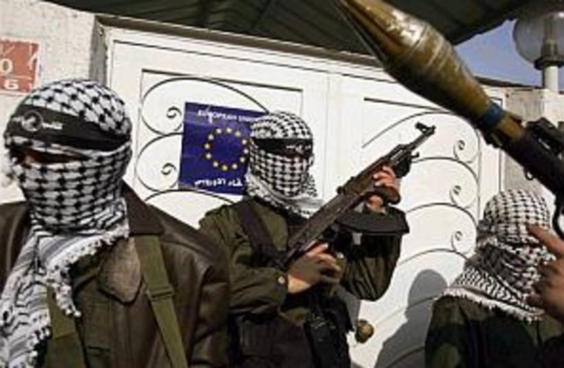 gunmen EU office 298 (photo credit: AP)