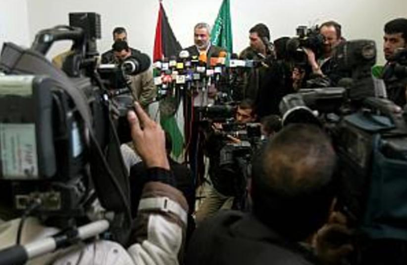 hanieh speaks 298.88 (photo credit: AP [file])