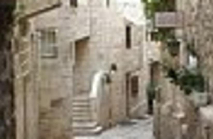 Jewish quarter jerusalem (photo credit: )