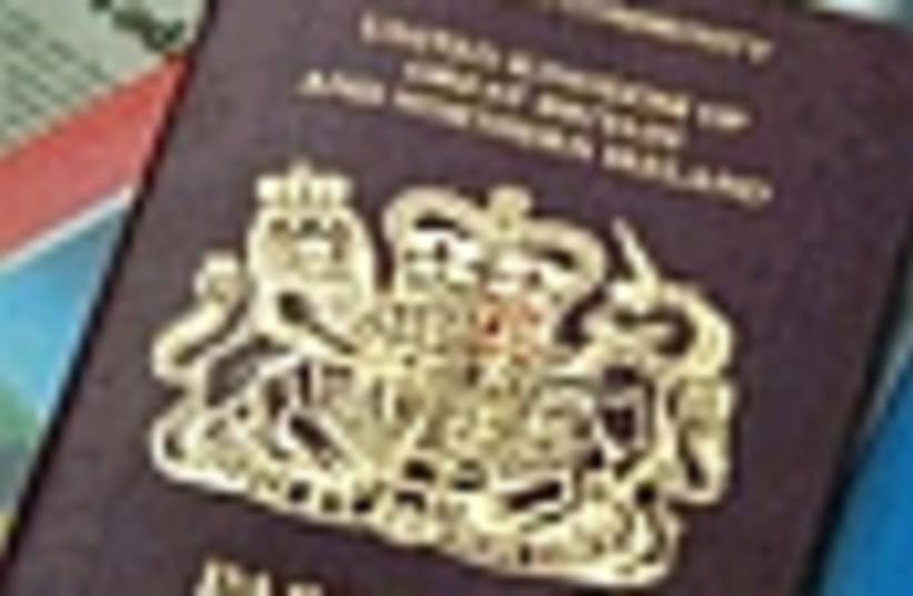 UK passport 88 (photo credit: )