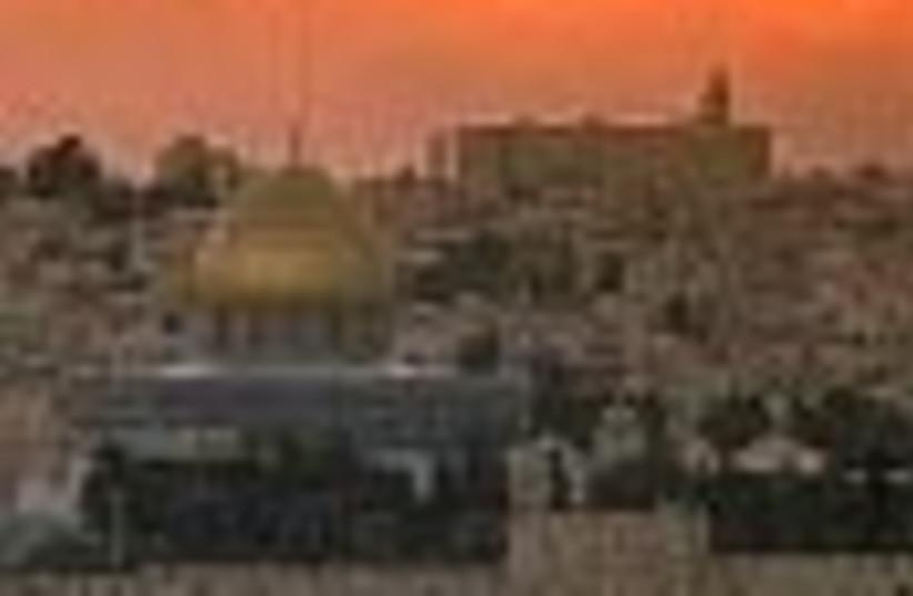 jerusalem sunset 88 (photo credit: )