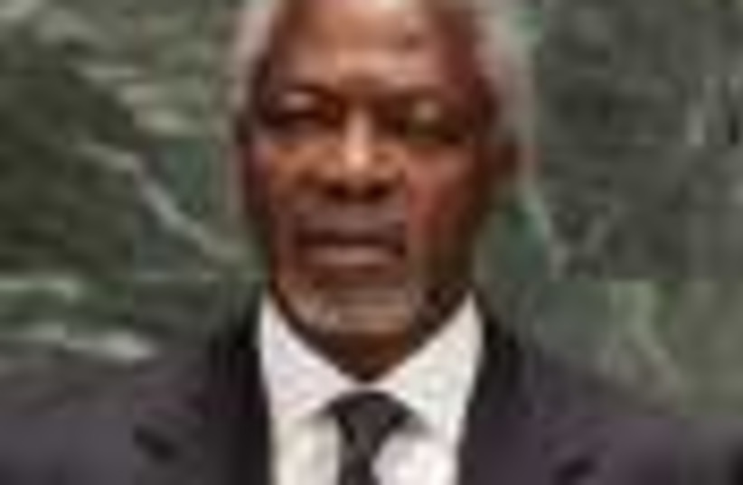 Annan UN 88 ap (photo credit: )