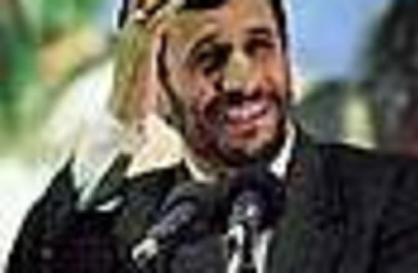 ahmadinejad oy 88 (photo credit: )