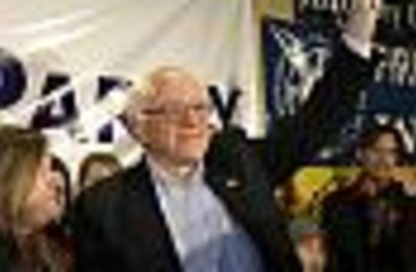 Sen Bernie Sanders 88 (photo credit: )