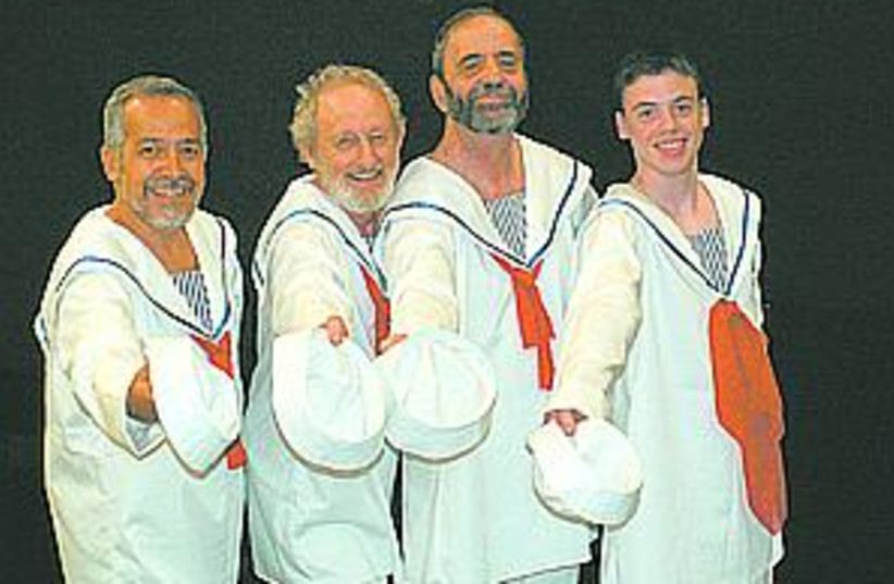 musical sailors 88.298 (photo credit: )