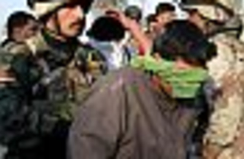 iraq arrest 88 (photo credit: )
