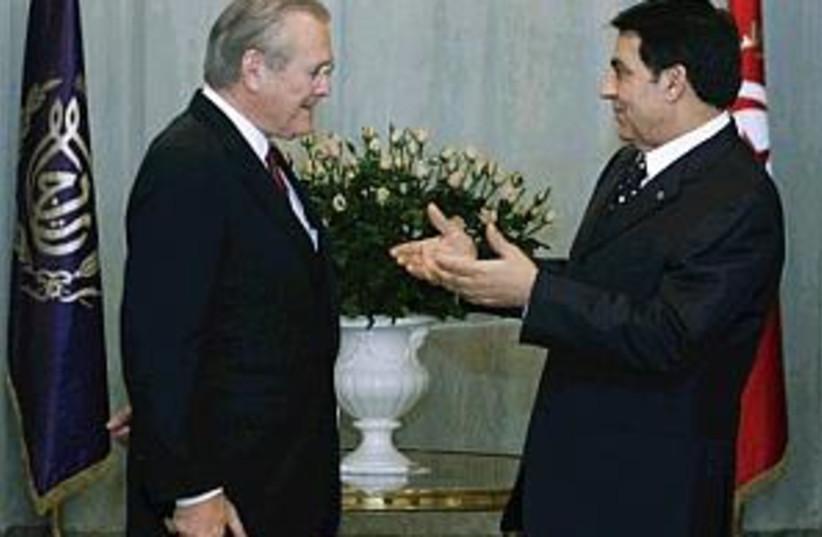 rumsfeld tunisia298 88ap (photo credit: AP)