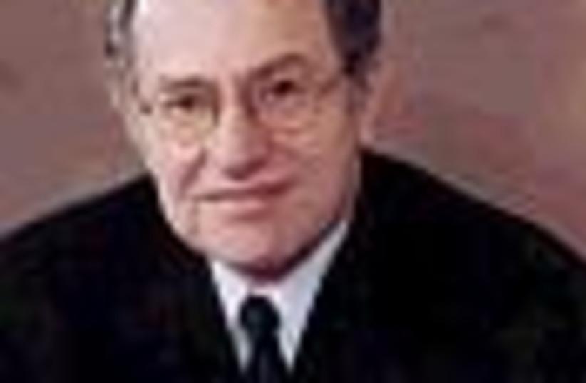 dershowitz in tie 88 (photo credit: )