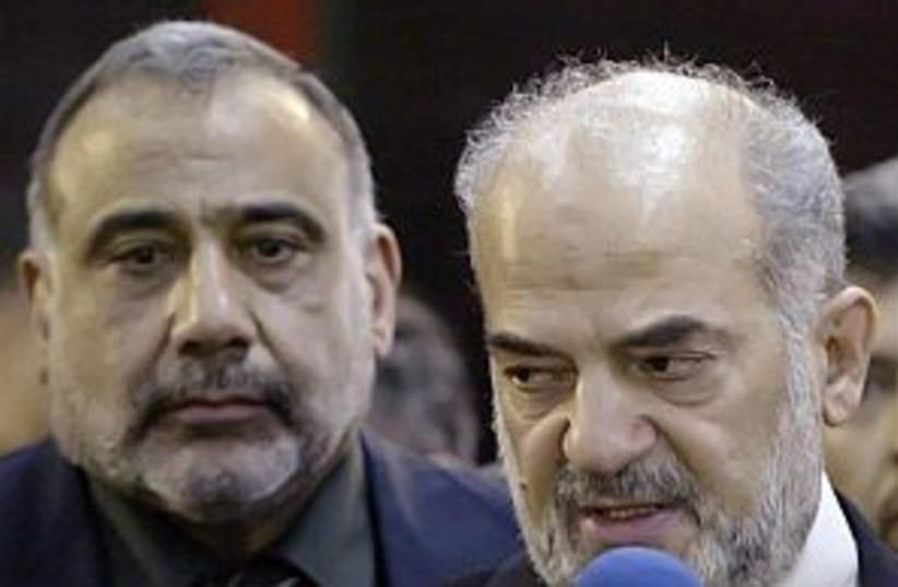 iraq pm al-jaafari298 88 (photo credit: AP [file])