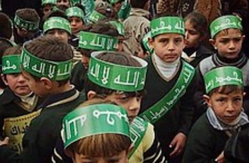 hamas kids 224.88 (photo credit: AP)