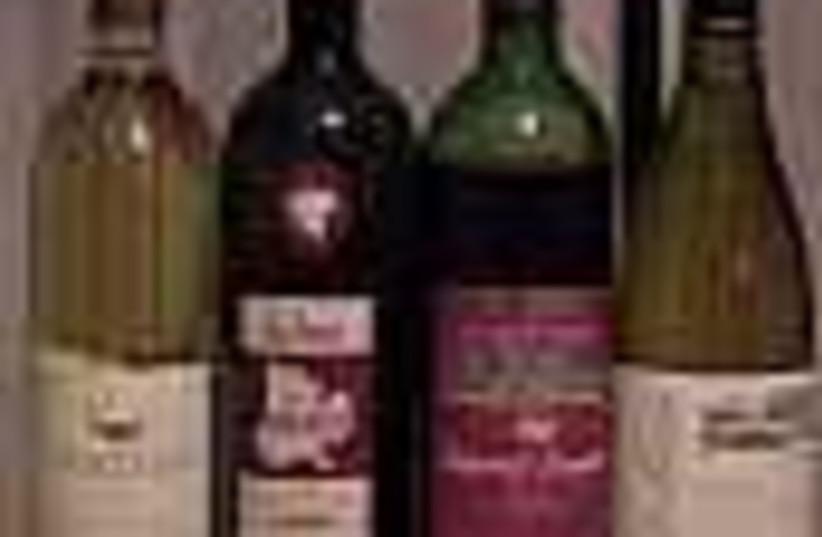 kosher wine (photo credit: )