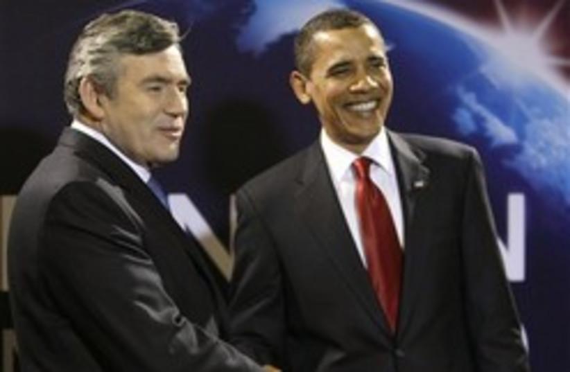 brown obama g20 248.88 ap (photo credit: AP)
