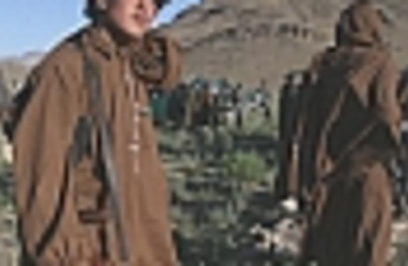 Afghan militia 88 (photo credit: )