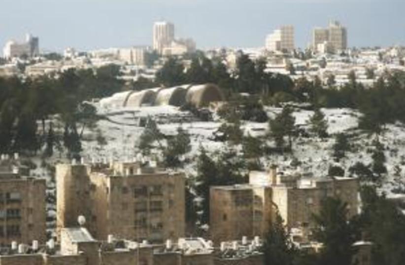 jerusalem snow 298.88 (photo credit: Courtesy)