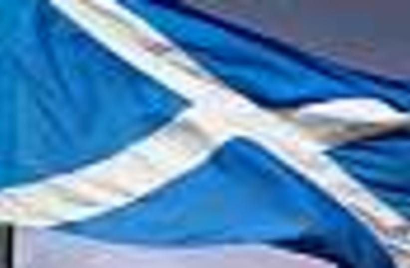 scotland flag 88 (photo credit: )