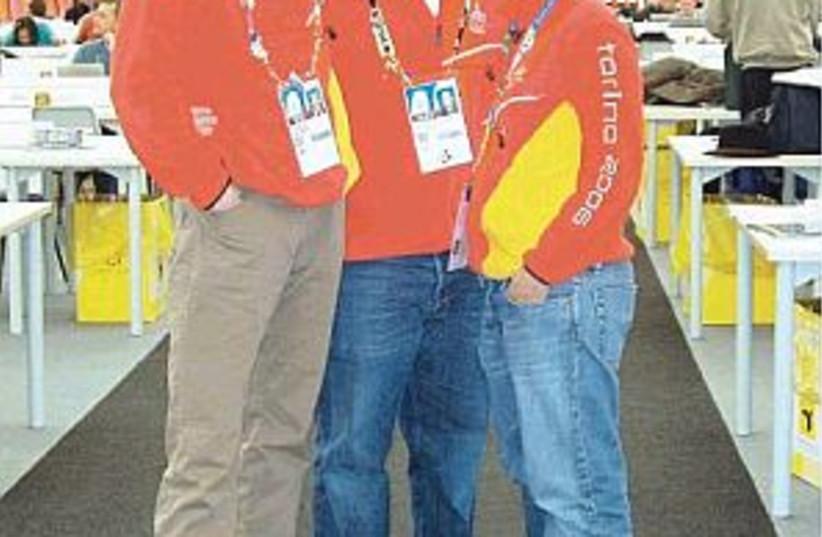 olympic volunteers298 88 (photo credit: Shimrit Berman)