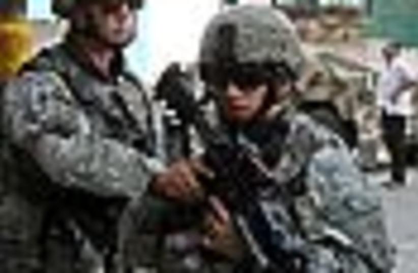 Iraq bomb+soldiers 88 (photo credit: )