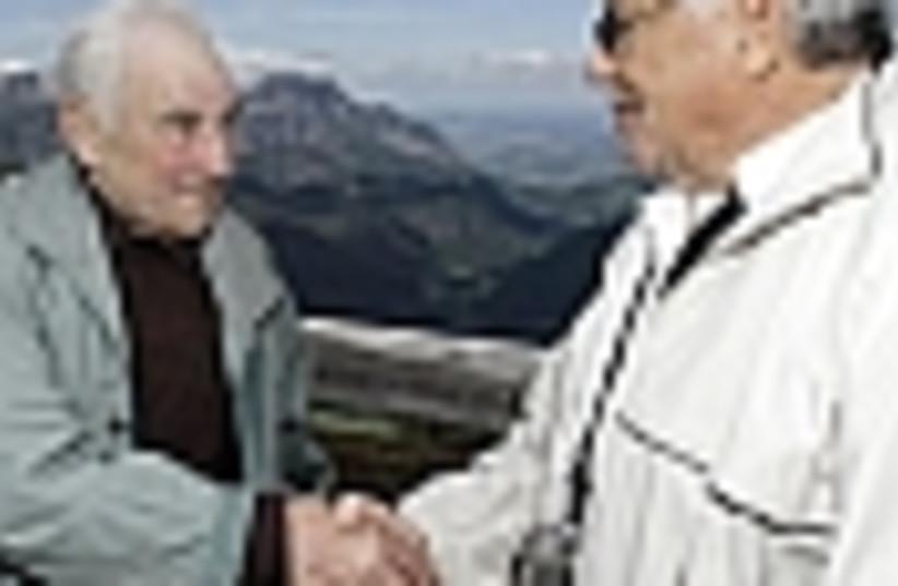 Jew german handshake 88 (photo credit: )