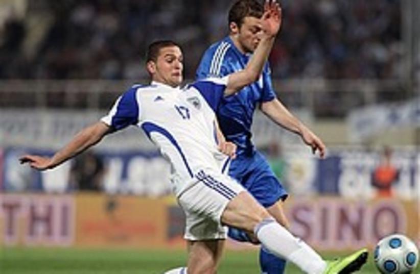 soccer greece israel world cup 248 (photo credit: )