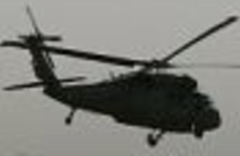 US chopper Iraq 88 (photo credit: )