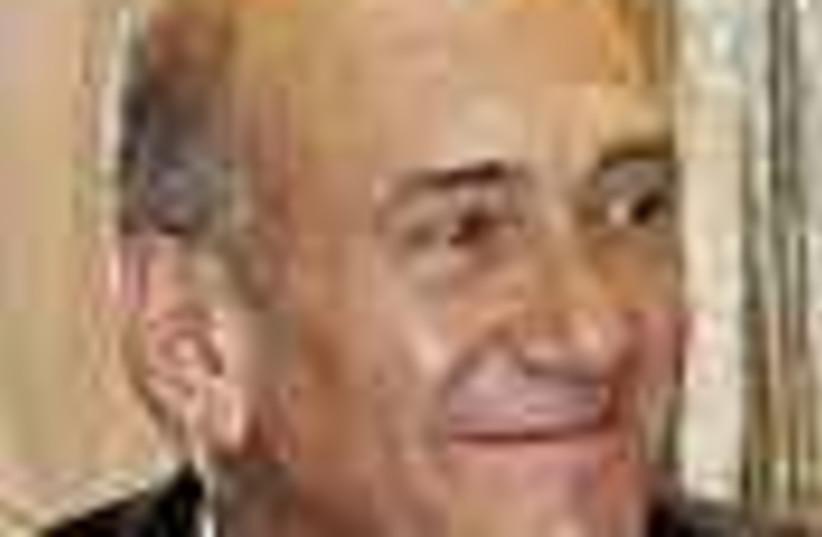 Olmert smiles 88 (photo credit: )