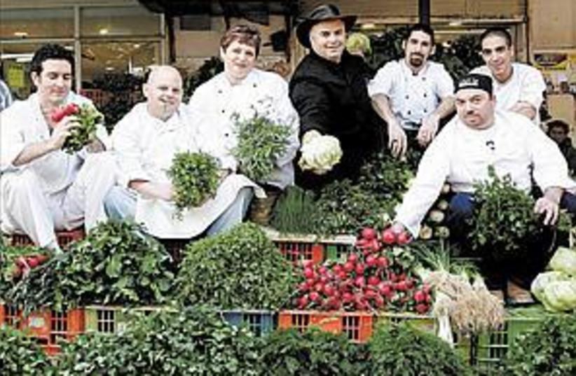 gourmet chefs 88.298 (photo credit: )