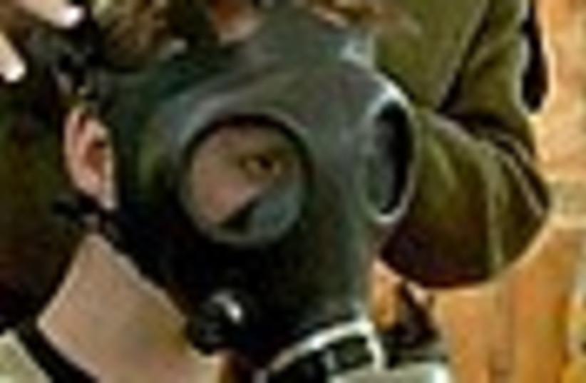 gas mask 88 (photo credit: )
