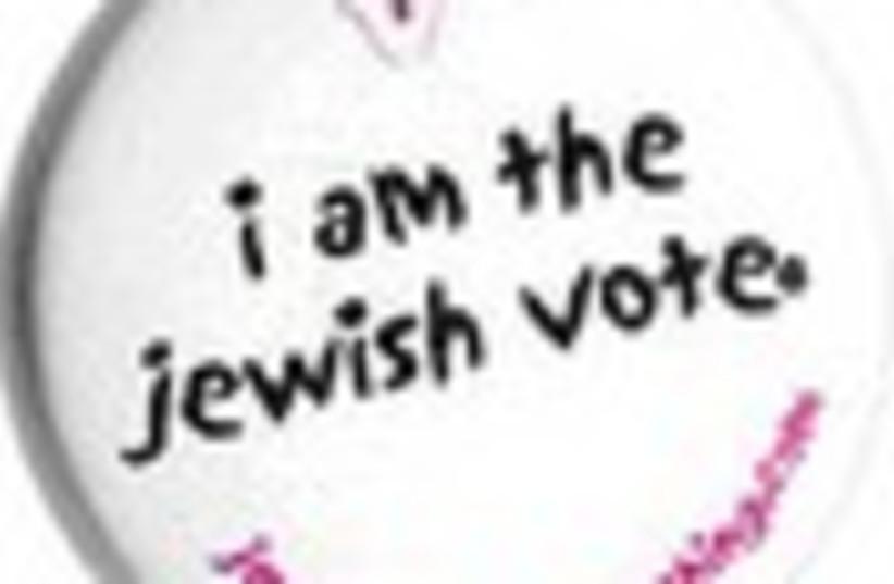 jewish vote 88 (photo credit: )