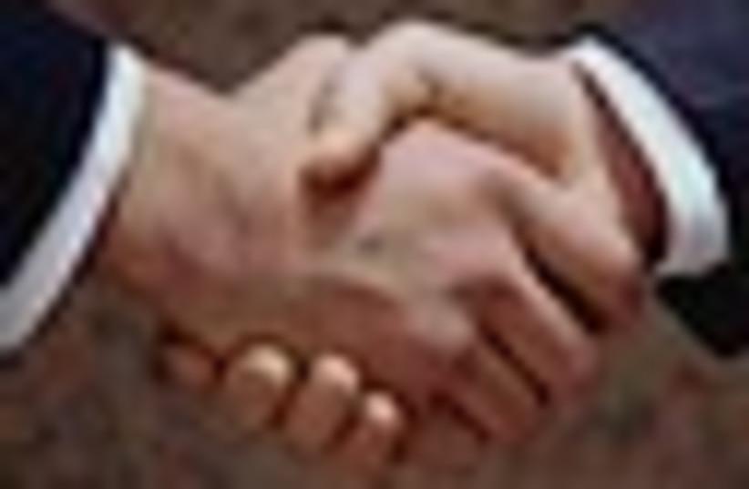 handshake 63 (photo credit: )