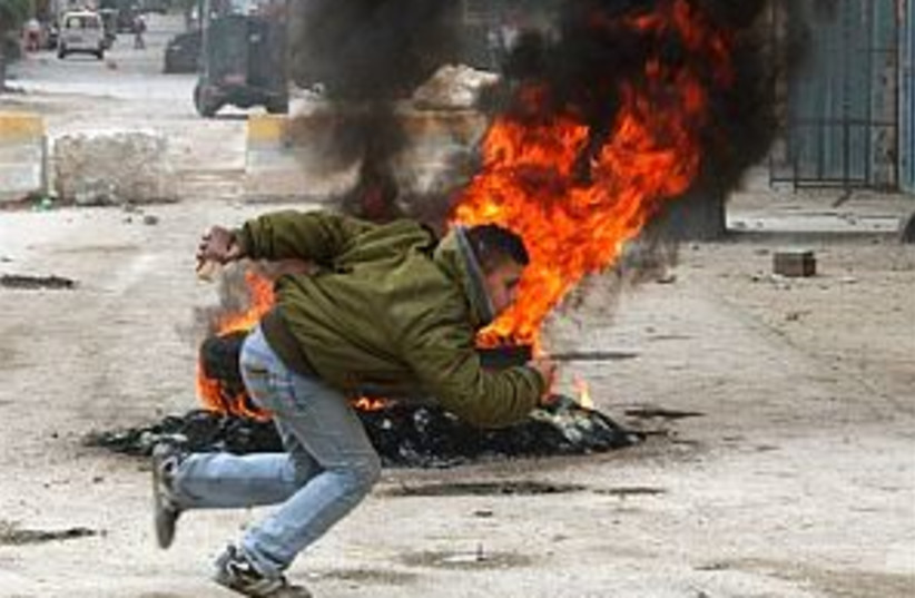 Balata violence 298.88 (photo credit: AP)