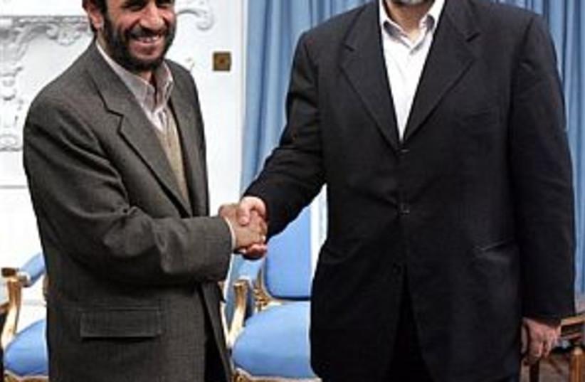 mashaal, iran pres 298.8 (photo credit: Associated Press [file])