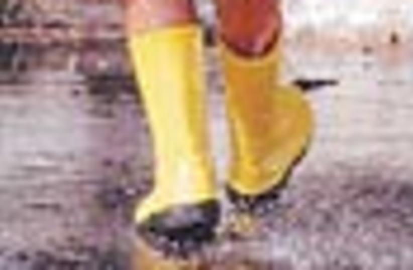 rain boots 88 (photo credit: )