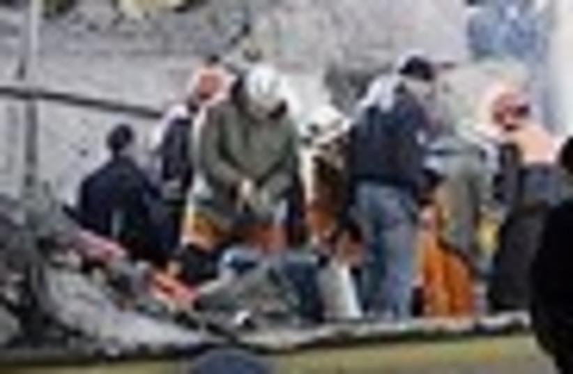 rescue effort 88 (photo credit: )