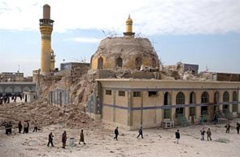 samarra mosque 298 (photo credit: AP)