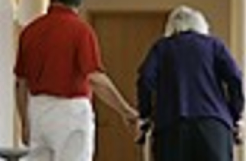 Elder care (photo credit: )