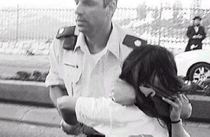 police violence 298 (photo credit: Avishalom Levy)