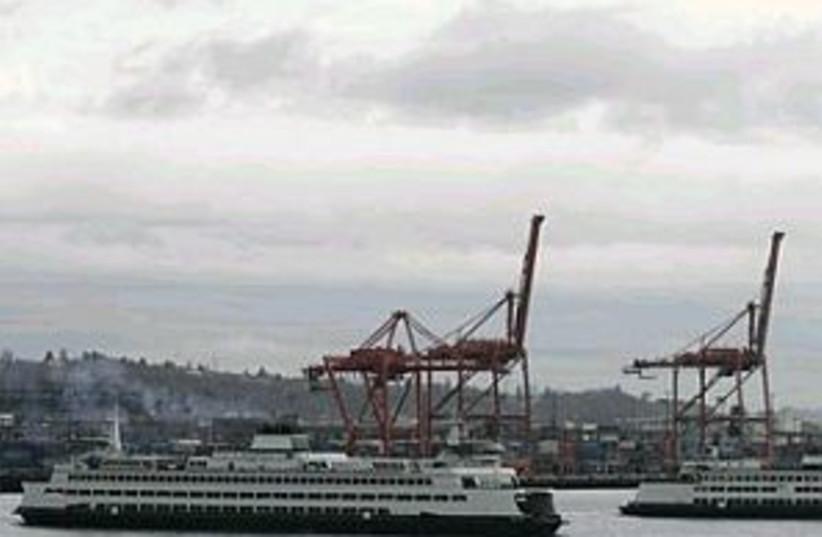 seattle port 298.88 (photo credit: AP)