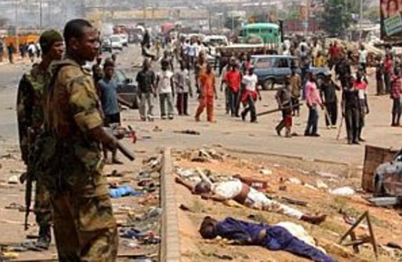 nigeria violence 298.88 (photo credit: AP)