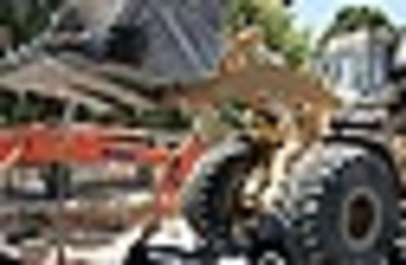 bulldozer 63 (photo credit: )