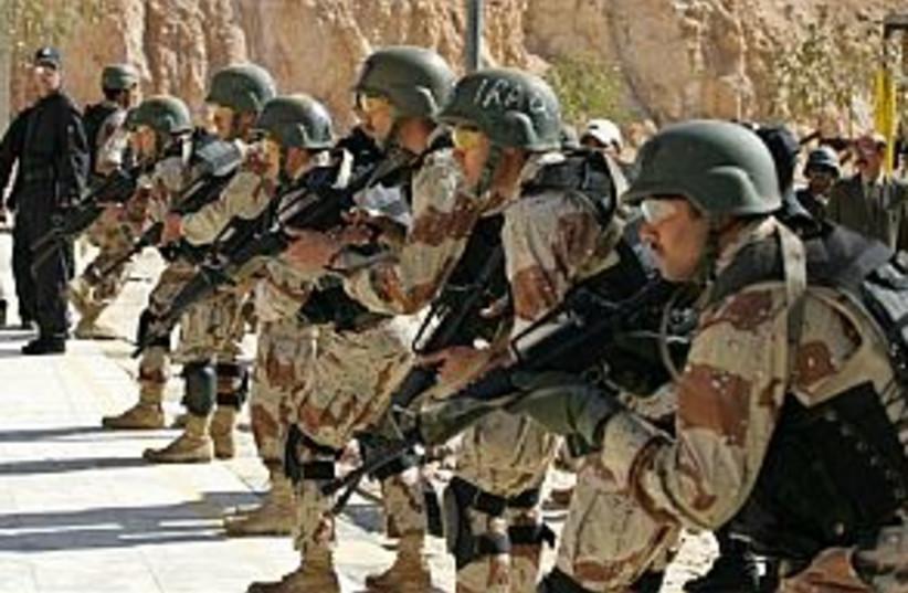 iraqi soldiers 88.298 (photo credit: AP)