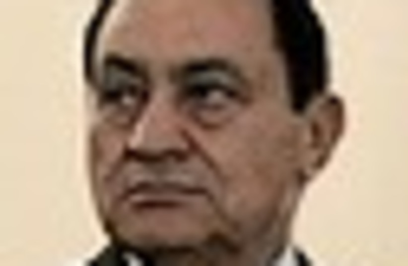 mubarak angry 63 (photo credit: )