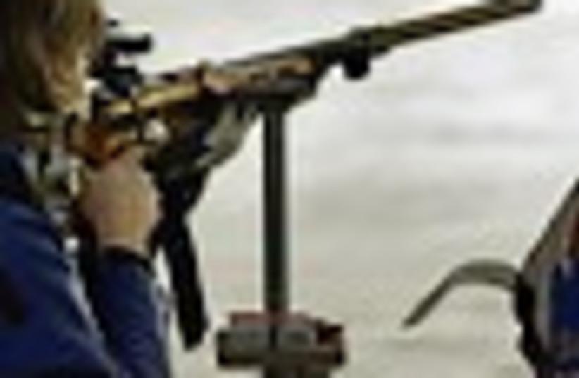olympic rifle 88 (photo credit: )