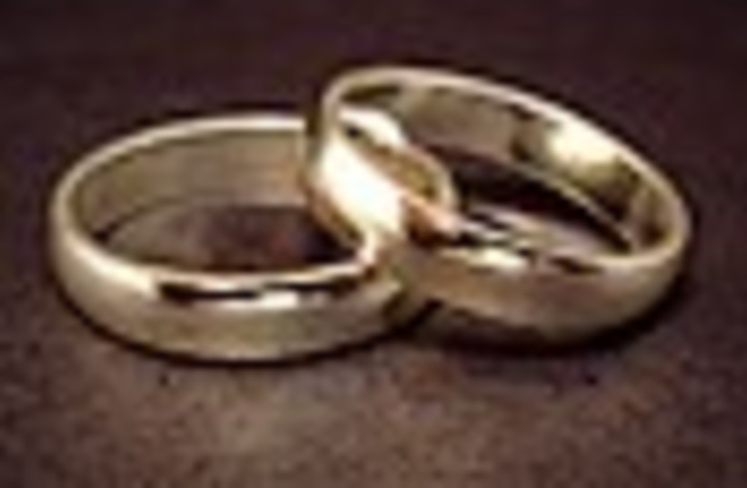 wedding rings (photo credit: )