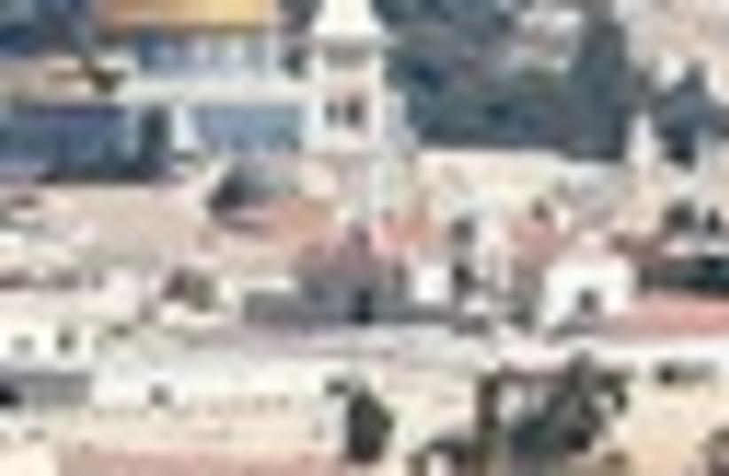 old city jerusalem temple mount 63 (photo credit: )