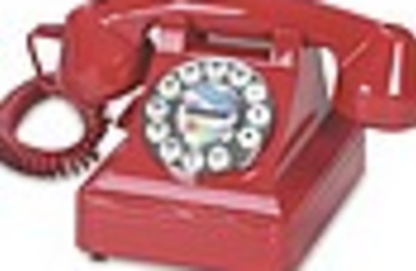 hotline hot line red phone  88 (photo credit: )