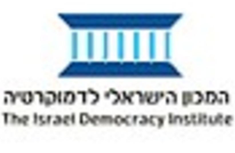 israeli democracy institute (photo credit: )