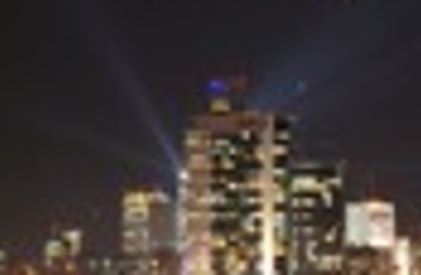 tel aviv at night moon 88 (photo credit: )