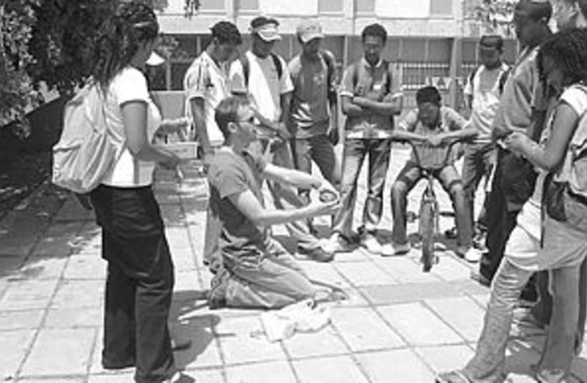 ethiopian students 88.29 (photo credit: )