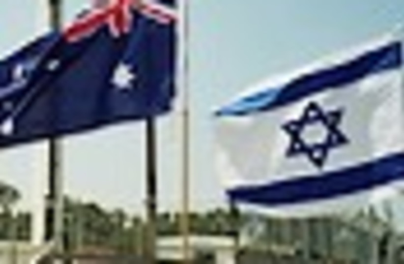 australia israel flags (photo credit: )