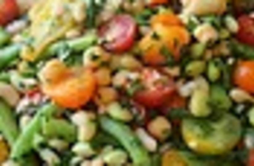 bean salad 88 (photo credit: )